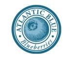 Atlantic blue blueberries logo