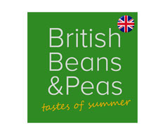 British beans and peas logo