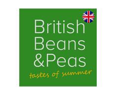 British beans and peas logo