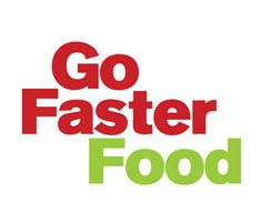 Go faster food logo