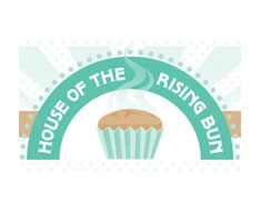 House of the rising bun logo