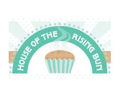 House of the rising bun logo
