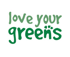 Love your greens logo