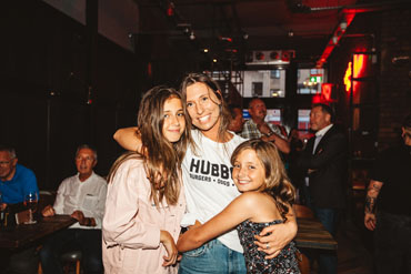Diners and staff at the Hubbox Bristol launch