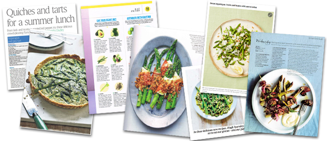 Asparagus coverage