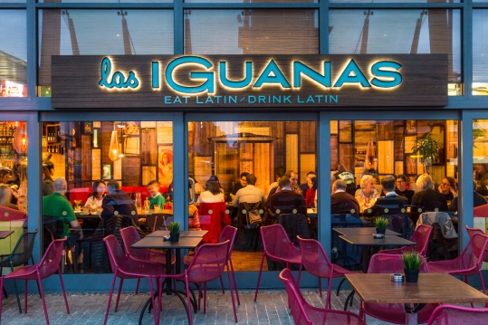 Las Iguanas - Bristol Harbourside