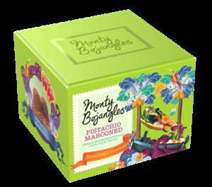 Monty Bojangles Pistachio Marooned pack shot