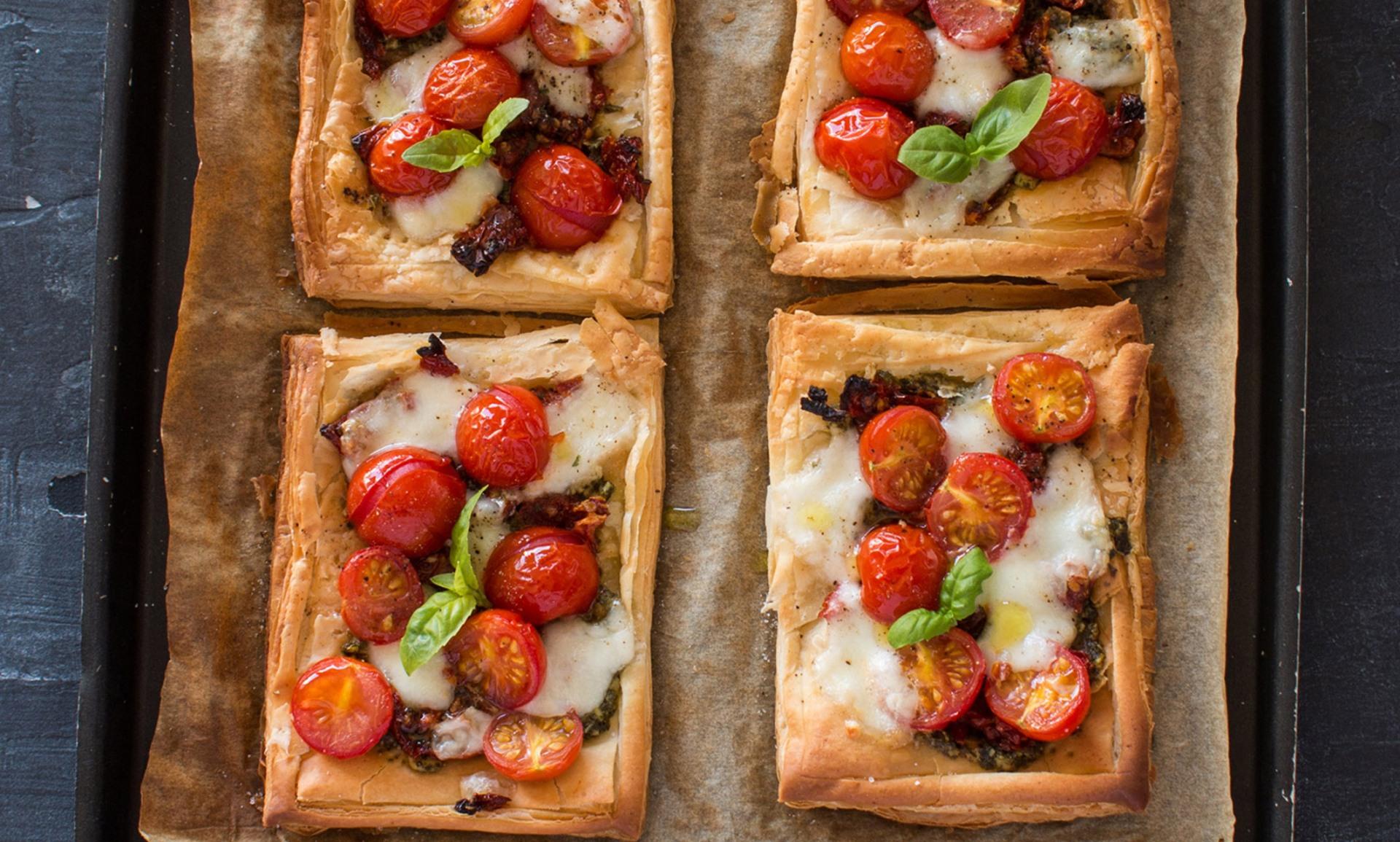 Isle of Wight Tomato Lunchbox Tarts