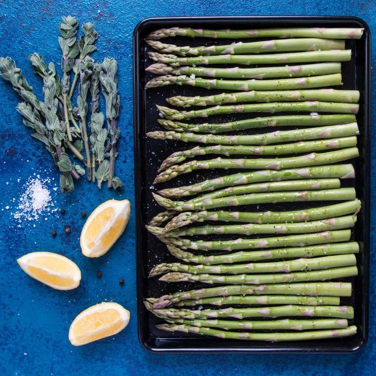 Roast asparagus 160218-1756