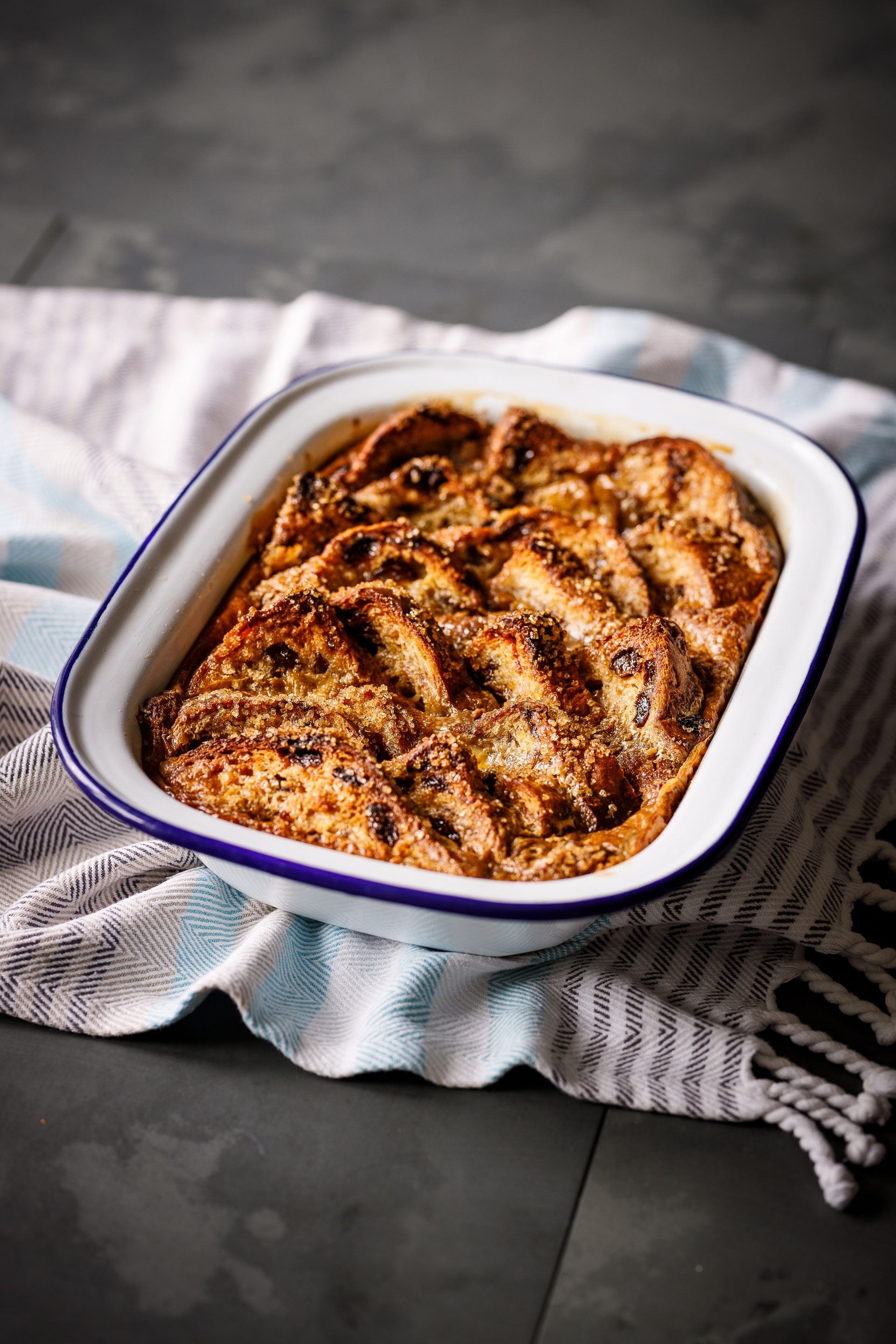 Caramel Arctic Iced Coffee Bread and Butter Pudding high res