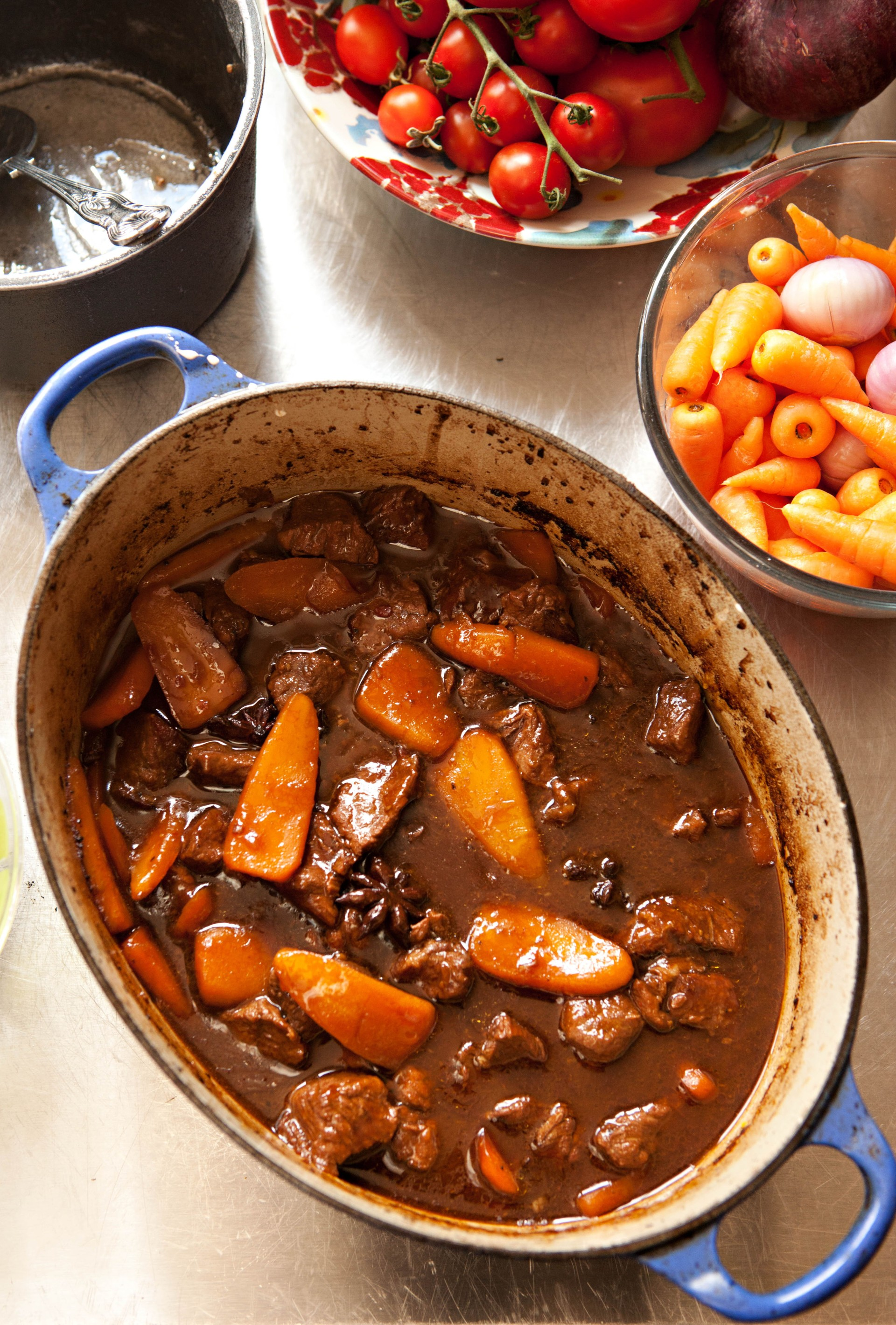 Oriental Braised Beef with Chantenay and Star Anise