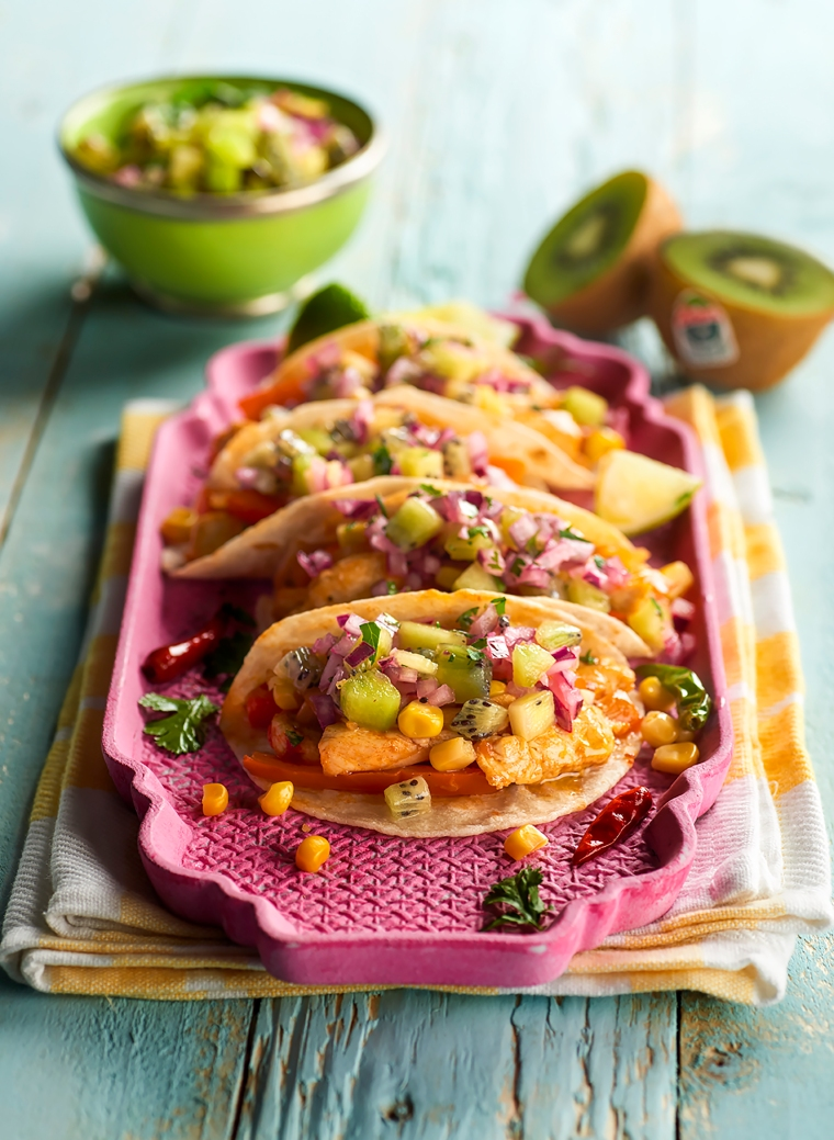Zespri chicken tacos